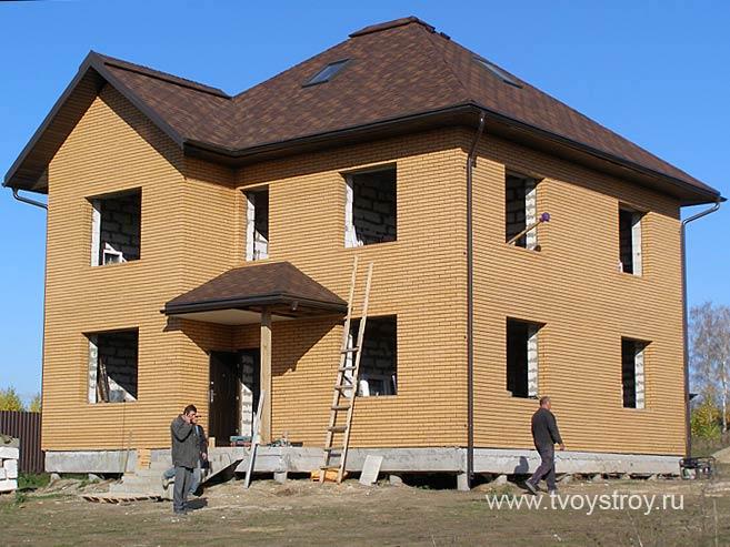 Фото строительства домов коттеджей
