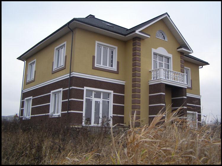 Фото строительства домов (коттеджей) | Строительство домов