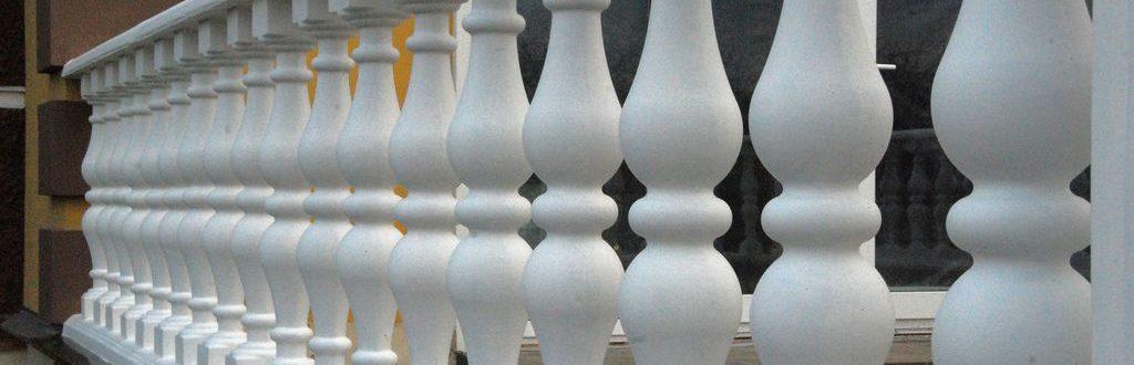 Балясины и балюстрады из бетона